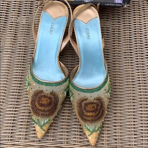 Champagne Luxury Fioni Heels